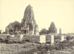 The temple of Mirabai on the Chittorgarh (fort)
